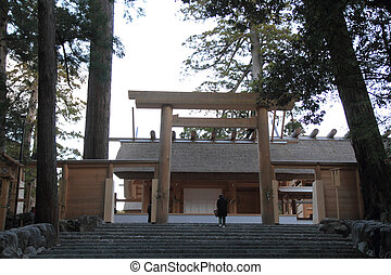 Main sanctuary of Ise shrine