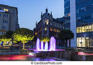 Main Square in Katowice