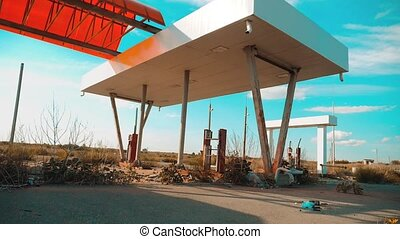 main street of america. Route 66. crisis road 66 fueling...