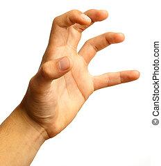 main, symbole