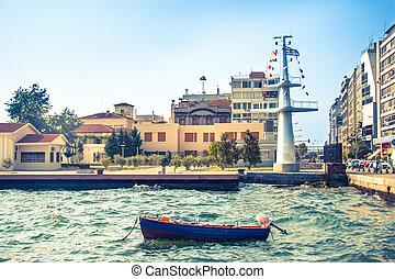 Main view on Thessaloniki embankment - Main view on...