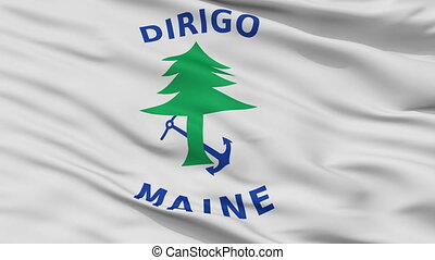 Maine Naval Ensign Flag Closeup Seamless Loop - Naval Ensign...