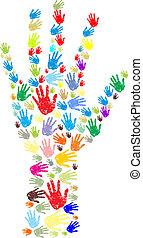 mains, caractères, résumé