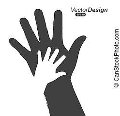 mains, conception