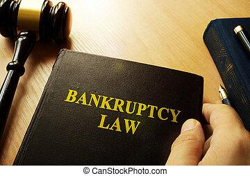 mains, droit & loi, tenue, faillite