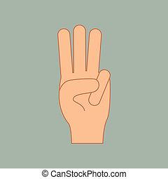 mains, geste