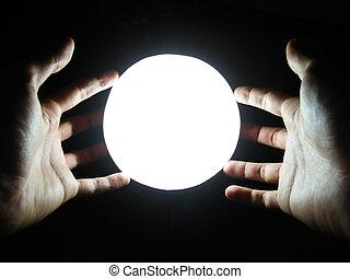 mains, magie
