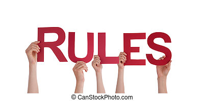 mains, tenue, règles