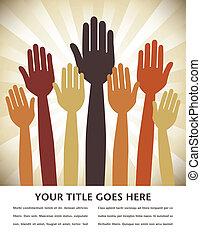 mains, vote, design.