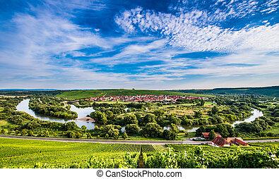 Mainschleife near Volkach