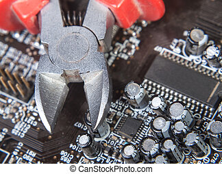 maintenance and repair of electronics