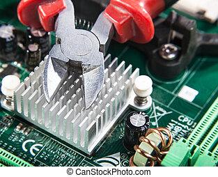maintenance of electronic