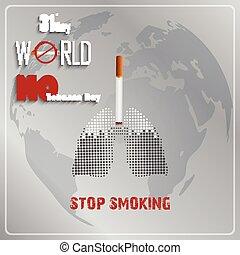 maio, fumar, parada, 31o