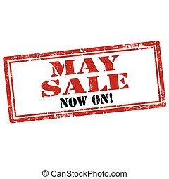 maio, sale-stamp