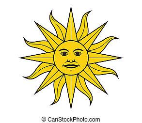 maio, sol