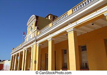 mairie, trinidad, cuba