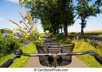 Maisfeld, Radfahren