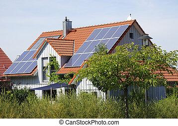 maison, écologique