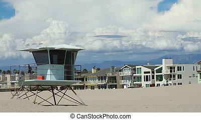 maison, 2, plage