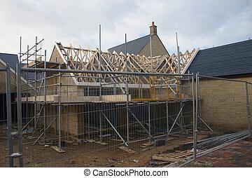 maison, 3, construction