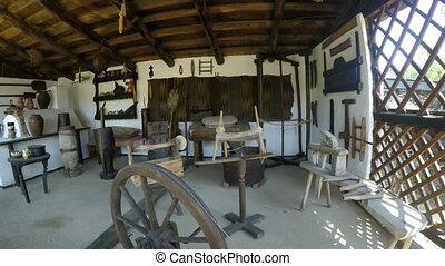 maison, ancien, outils
