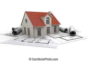 maison, architecture