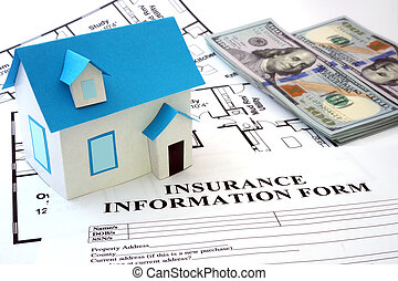 maison, assurance, formulaire