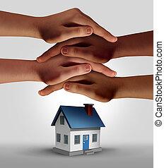 maison, assurance