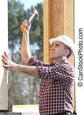 maison bois, charpentier, eriger