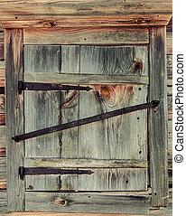 maison bois, volets