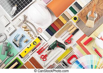 maison, bricolage, rénovation