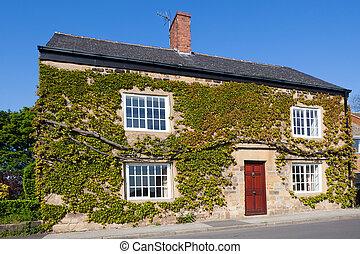 maison, britannique, typique