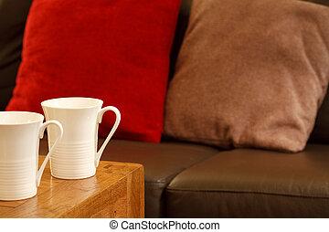 maison, café