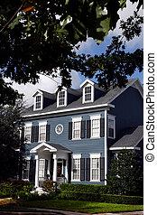 maison, charmer, colonial
