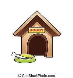 maison, chien