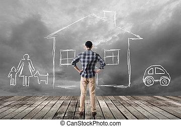maison, concept