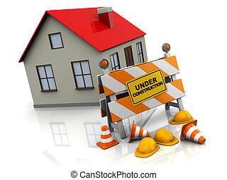maison,  construction, sous