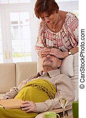 maison, couples aînés