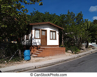 maison dans, antigua, barbuda
