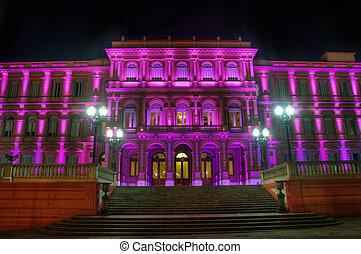 maison, de, gouvernement, dans, argentine