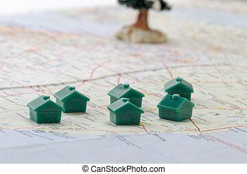 maison, emplacements