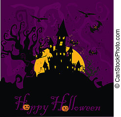 maison hantée, halloween