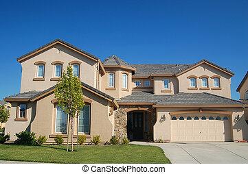 maison, haut gamme, californie
