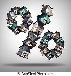 maison, hypothèque évalue