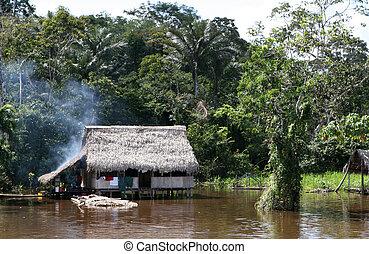 maison, indigène