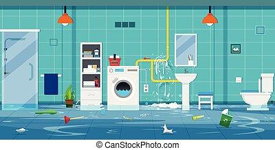 maison, inondations
