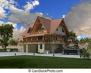 maison, luxe