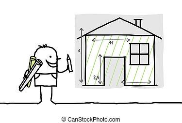 Br ler caract re main maison dessin dessin for Dessine mes plans de maison