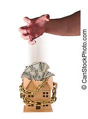 maison, mauvais, investissement