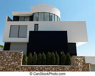 maison, moderne